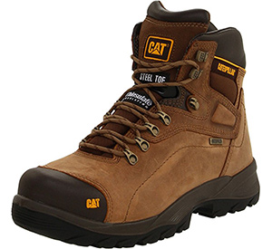 best caterpillar mens steel toe work boots for plantar fasciitis