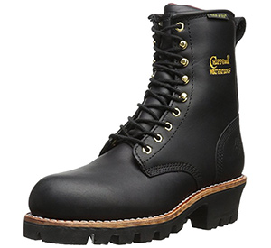 best chippewa steel toe logger boots