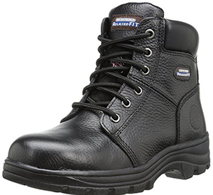 best skechers steel toe comfortable work boots