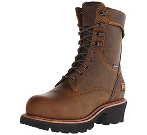 best timberland mens rip saw logger boots